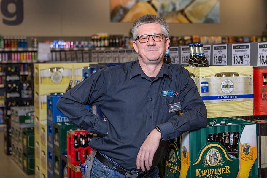 Marktleiter Getränkemarkt